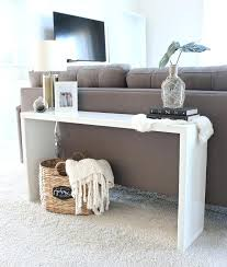 Easy Console Table And Sofa Table Ideas Behind The Couch Table Diy