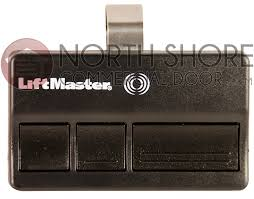 opener remote control 315mhz transmitter opens garage entryway with rolling code technology