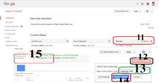 sitemap add to google search console