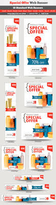 special offer banner banner template web banners and templates special offer web banner template psd buy and graphicriver