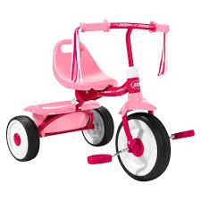 Huffy Disney Minnie Mouse Lights And Sounds Folding Trike Radio Flyer Fold 2 Go Trike Pink Girls Radio Flyer