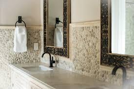 Tile Entire Bathroom Java Tan Pebble Tile Pebble Tile Shop