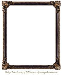 antique wood picture frames. Frame Png | Elaborate Wood 3 By EKDuncan EveyD On DeviantART Antique Picture Frames O