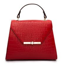 handbags exquisite red animal print leather women handbag ripani italy in dubai