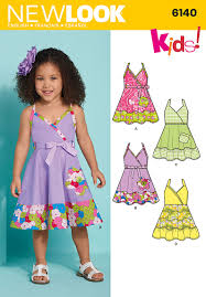 Toddler Dress Patterns Delectable New Look 48 Toddler Dress And Belt