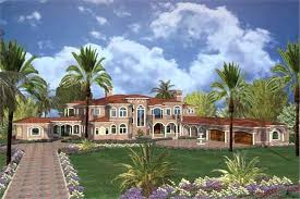 mediterranean home a this image shows the front elevation of these luxury house plans beachfront plans coastal mediterranean style home builders