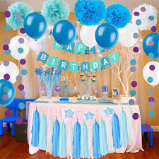 2019 diy party decorations set party supplies se including paper flowers tissue tassel garland party balloons for birthday wedding baby showe from luckies