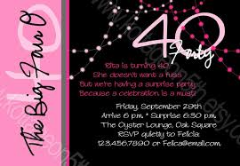 40th birthday invitations for her is a creation that may be a valuable source of inspiration for your invitation 3