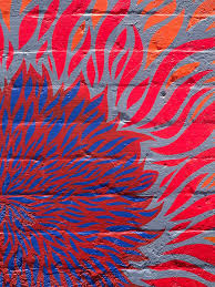 Paint Patterns Awesome Painted Patterns On A Wall Out And About