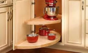 Corner Shelves For Kitchen Cabinets Blind Corner Cabinet Solutions 69