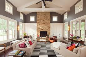 white area rug living room. Black And White Area Rugs Living Room Contemporary With Beams Beige Armchair Beige. Image By: New Urban Home Builders Rug K