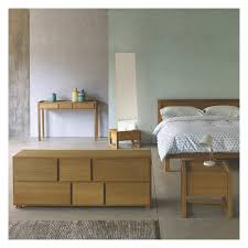 Single Bedroom Hana Ii Oak Single Bed 90cm Buy Now At Habitat Uk