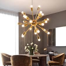 gold sputnik chandelier. [anastasia] Gold Sputnik Chandelier L