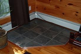 diy pellet stove hearth pad