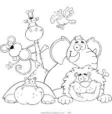 Coloring Page Zoo S4907 Zoo Animals Coloring Book Zoo Animal