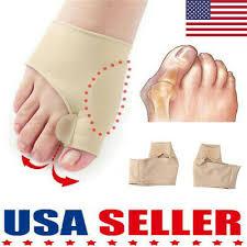 <b>1Pair Toe Separator</b> Bunion Corrector <b>Hallux</b> Valgus Orthopedic ...