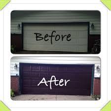 nice to look at gel stain garage door