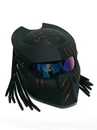 amazon com sy15 custom predator motorcycle dot approved helmet