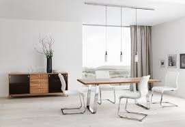 white modern dining room square dark brown wooden dining table intended for brilliant house white metal dining chairs ideas