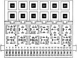 1997 vw jetta gt a diagram for the exact locations for the relays graphic