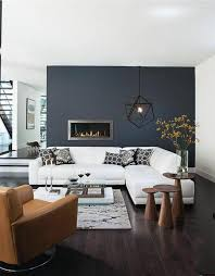 accent wall living room wild country