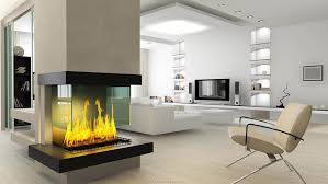 Contemporary living room idea in New York with beige walls, a standard  fireplace and a