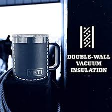 4.7 out of 5 stars 511. Amazon Com Yeti Rambler 10 Oz Stackable Mug Stainless Steel Vacuum Insulated With Standard Lid Black Sports Outdoors