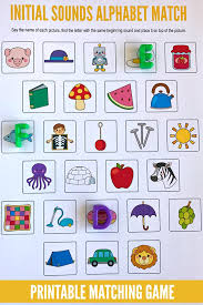 Order hard copies of our phonics monster series on amazon.com! Beginning Sounds Alphabet Matching Game