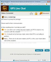 Ups Customer Support Confirmed A Reschedule Delivery Time For A