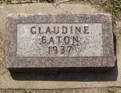 Claudine Eaton (1937-1937) - Find A Grave Memorial