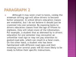 essay against raising the driving age raising the driving age 18 essays research papers essays