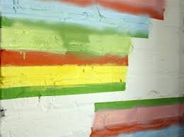 clean painted wallsStraight Lines On a Brick Wall with FrogTape  The Kids Fun Review