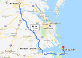 drive to the outer banks