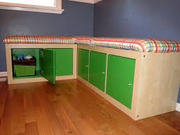 ikea furniture hack. using two expedit bookshelves create a cozy lshaped bench for dining that does double duty as storage read more 9 ingenious ways to hack ikea furniture ikea k