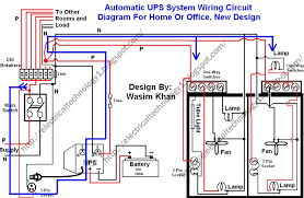 home office wiring diagram home wiring diagrams automatic ups system wiring circuit diagram