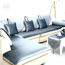 leather couch slipcovers. Contemporary Couch Sectional Couch Slip Covers 2 Leather Sofa Slipcovers  For Curved Sofas   Intended Leather Couch Slipcovers