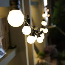 Outdoor Holiday Globe Lights Ropio Waterproof Outdoor Led Festoon String Light 10l 5m Globe Light For Party Holiday Patio Decoration Buy Globe String Light Festoon Light Outdoor