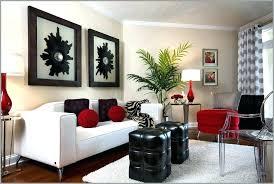 black and white decor ideas creative design red black and white living room decorating ideas black