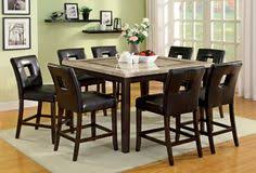 elgin off white square counter height table set dining table chairsmarble top dining tablewalnut dining tablemarble tablesdining room
