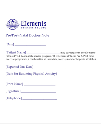 Blank Urgent Care Doctors Note Doctors Note Template 8 Free Word Pdf Documents Download