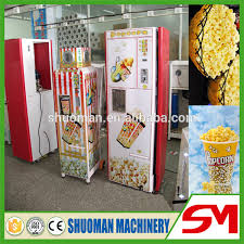 Popcorn Vending Machine Awesome 48 New Type No Transfatty Acid Popcorn Vending Machine View