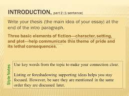 The help essay on setting   essayhelp    web fc  com FC  The help essay on setting