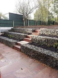 retaining wall ideas gabion