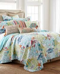 Nautical & Beachy Bedding & Linens | Stein Mart & Beachwalk Luxury Quilt Collection Adamdwight.com