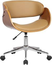 stylish office chairs for home. Porthos Home Lydia Office Chair, Stylish Desk Height Adjustable, 360 Chairs For