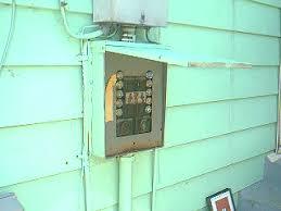 fuse panel on outside of house!!! internachi Fuse Box Outside House fuse panel on outside of house!!! fuse box outside house