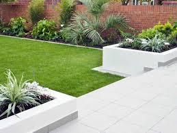 ... Garden, Stunning Green Landscaping Rustic Grass Modern Garden Design  Decortaive Mixed Plants And Grass Ideas ...