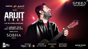 Arijit Singh Live With World Musicians Platinumlist Net