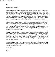 apology love letter to your girlfriend sample templates within sample love letters to your girlfriend