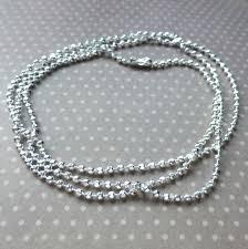 ball chain necklace. description ball chain necklace
